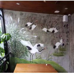 南昌会所手绘墙、芦溪县手绘墙、光阴绘墙绘(查看)图片