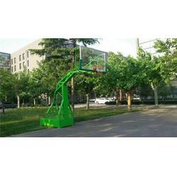 地埋式篮球架报价,篮球架,鑫欧泰教学设备图片