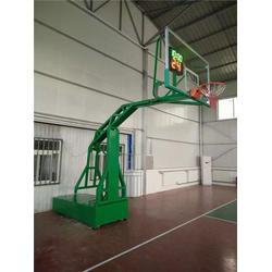 篮球架_鑫欧泰教学设备(在线咨询)_电动式篮球架厂家图片