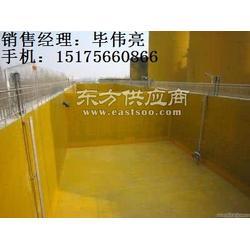玻璃鳞片胶泥施工工艺、污水池防腐工程施工厂报价图片