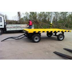 8吨平板拖车|营口平板拖车|胡杨机械质高价低(查看)图片