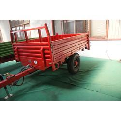 高密农用平板拖车,胡杨机械定制拖车,农用平板拖车供应商图片