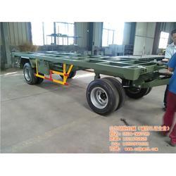胡杨机械定制拖车 工业平板拖车挂车厂家