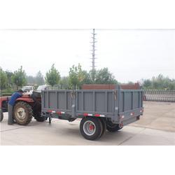 漠河县拖拉机双轴拖车-胡杨机械现货供应-拖拉机双轴拖车图片