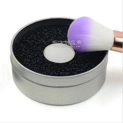 化妆刷清洁海绵图片