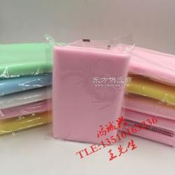 粉色PVA洗脸棉巾图片