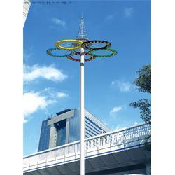 广场高杆灯 华盛新能源 广场高杆灯订购图片