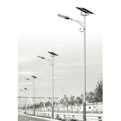 5米太阳能路灯灯杆_华盛新能源_太阳能路灯图片