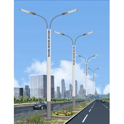 华盛新能源、道路灯杆、道路灯杆图片
