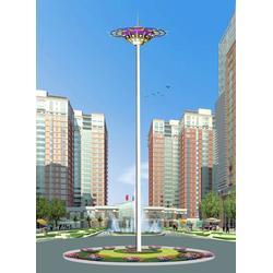 厂区高杆灯照明-华盛新能源(在线咨询)高杆灯图片