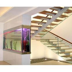 合肥钢结构楼梯、合肥远致钢结构、钢结构楼梯制作图片