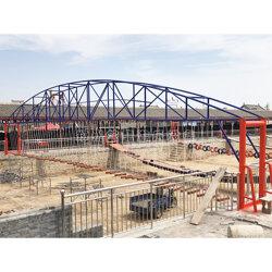 景区水面吊桥安装 户外水面趣桥项目图片