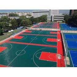 运动pvc地板胶 瑞勒环保建材 青山运动pvc地板图片
