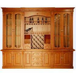 定制酒柜、六安酒柜、安徽舒森木业(查看)图片
