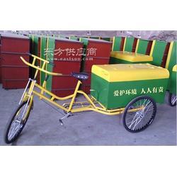 人力环卫三轮车 红诺环卫厂家销售图片