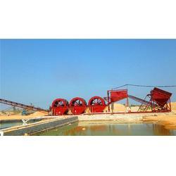 哪有转轮式洗沙机厂家-怀化转轮式洗沙机-建亚机械质量保证!图片