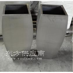不锈钢花盆定制加工金属花盆图片