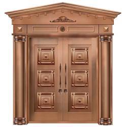 无锡市嘉特安铜门(图)|专业制作金属铜门|四川金属铜门图片
