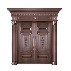 别墅铜门-无锡市嘉特安铜门-别墅铜门〓定做图片