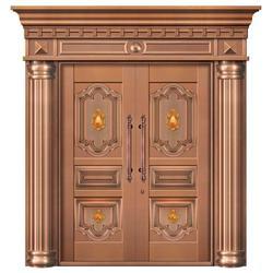 实木铜门|无锡嘉特安铜门(在线咨询)|陕西实木铜门图片