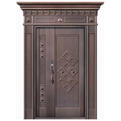 陕西仿古铜门,仿古铜门工艺,无锡嘉特安铜门(推荐商家)图片