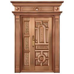 紫铜门怎么样-山西紫铜门-嘉特安铜门图片