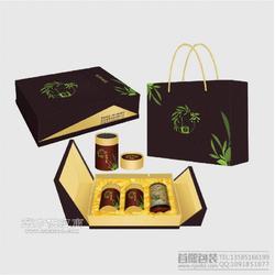 设计食品包装盒 茶叶高档礼盒 大闸蟹盒定做图片