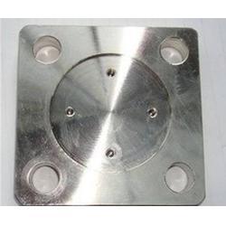 304不锈钢方形法兰盖_嘉兴方形法兰盖_超翔管件加工定制图片