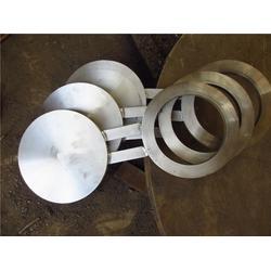 宝坻区八字盲板_超翔管件各种材质_钢制管线八字盲板图片