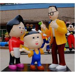 小黄人玻璃钢卡通人物制作|天津玻璃钢卡通人物制作|永正雕塑图片