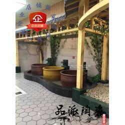 酒店极乐汤壶浴挂汤缸的厂家图片