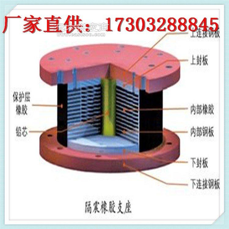 铅芯橡胶建筑隔震支座图片