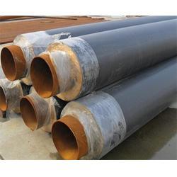钢套钢预制直埋保温管、万福保温、预制直埋保温管图片