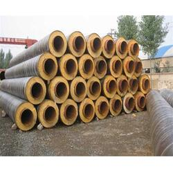 钢套钢保温管厂家,钢套钢保温,廊坊万福保温(查看)图片