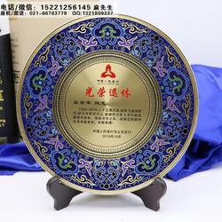 沧州市定做纯铜奖牌纪念牌厂家、单位老员工表彰大会纪念品、退休人员感谢牌奖牌制作图片