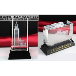 上海水晶模型礼品厂家,工程建筑模型纪念品、送给经销商供应商的水晶小礼品款式图片