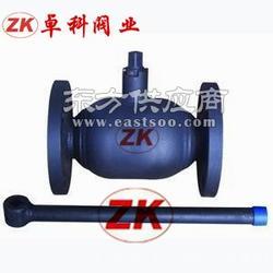 卓科厂家直销供应法兰全焊接球阀 Q41F焊接l球阀 Q341F手动碳钢全焊接球阀图片