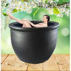 泡澡缸陶瓷洗浴大缸 质量保证厂家直销洗浴中心图片