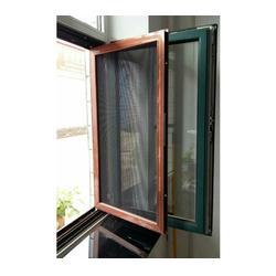 防盗纱窗,折叠防盗纱窗,太原老战友门窗图片