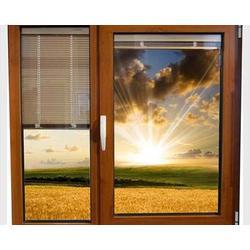 山西铝断桥门窗、太原老战友门窗制作厂、铝断桥门窗施工图片
