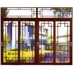断桥铝门窗加工制作厂家、襄汾断桥铝门窗、太原老战友门窗制作图片