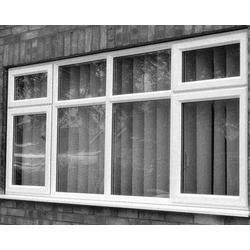 太原老战友门窗厂、大同铝合金断桥窗户、铝合金断桥窗户施工图片