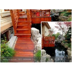 中式庭院设计-蚌埠中式庭院-一禾园林(查看)图片