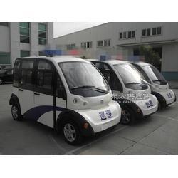 8座封闭式巡逻车,带门电动巡逻车可装空调图片