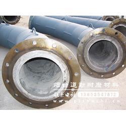 玄武岩铸石管道-道勤耐磨材料(在线咨询)-铸石管图片