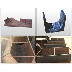 灰渣沟镶板制造商-灰渣沟镶板-道勤耐磨材料低图片