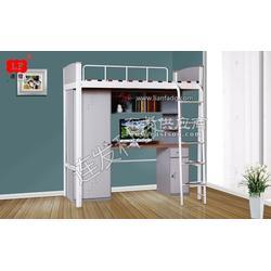 公寓床 梯子采用凹槽式设计,防滑性更好图片