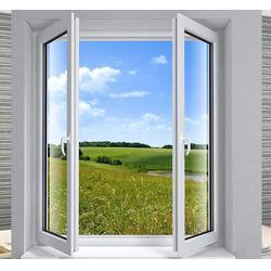 湛江铝合金平开窗-铝合金平开窗厂家加盟-尚进门窗(优质商家)图片
