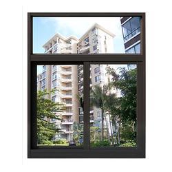 推拉窗,办公楼推拉窗,粤人铝材(优质商家)图片