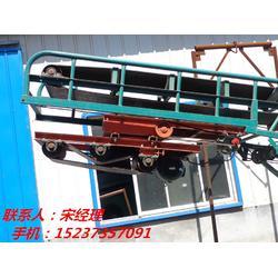粮食通用带式输送机 小麦玉米水稻能转向抛粮皮带机图片